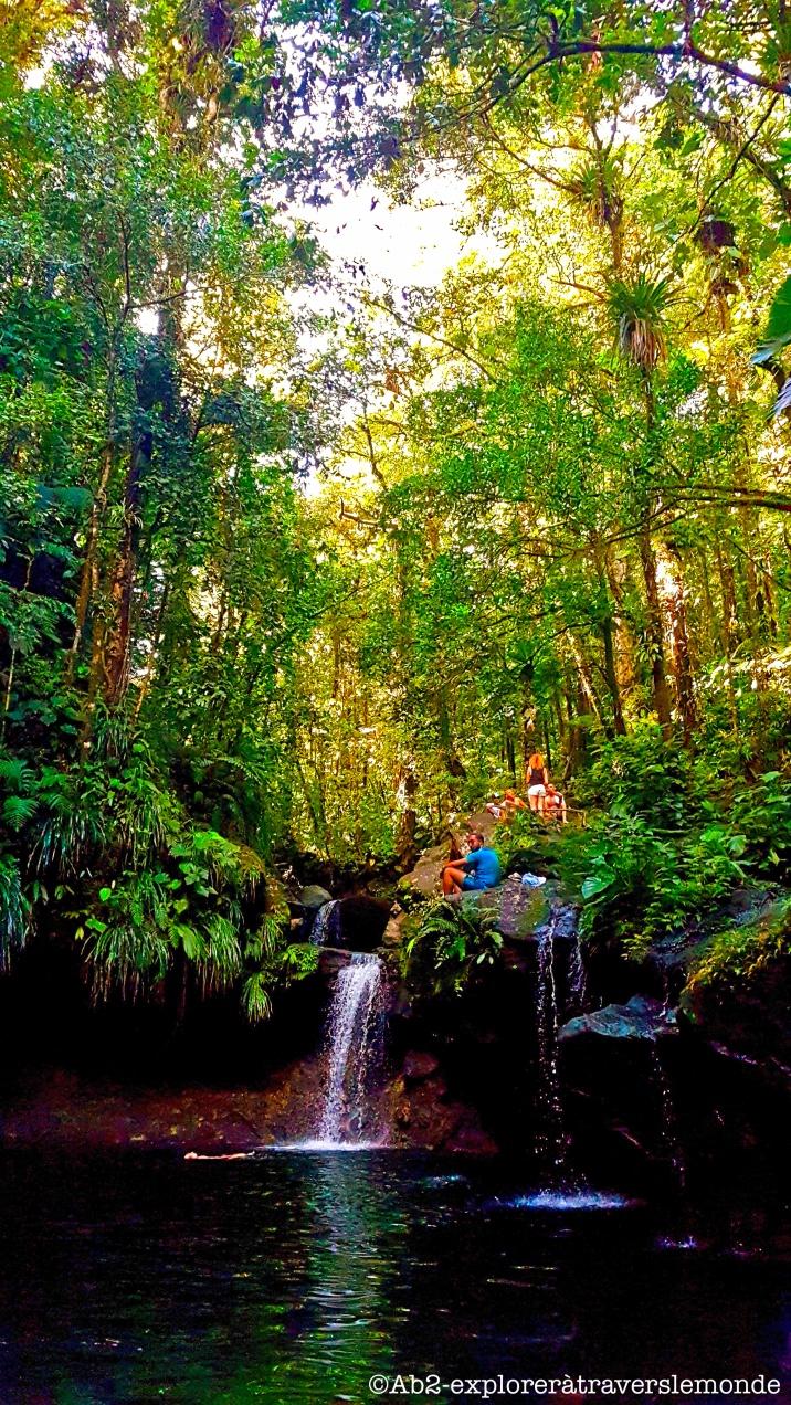 bassin paradise - chute