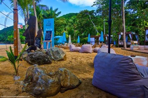 deshaies - bar de la plage