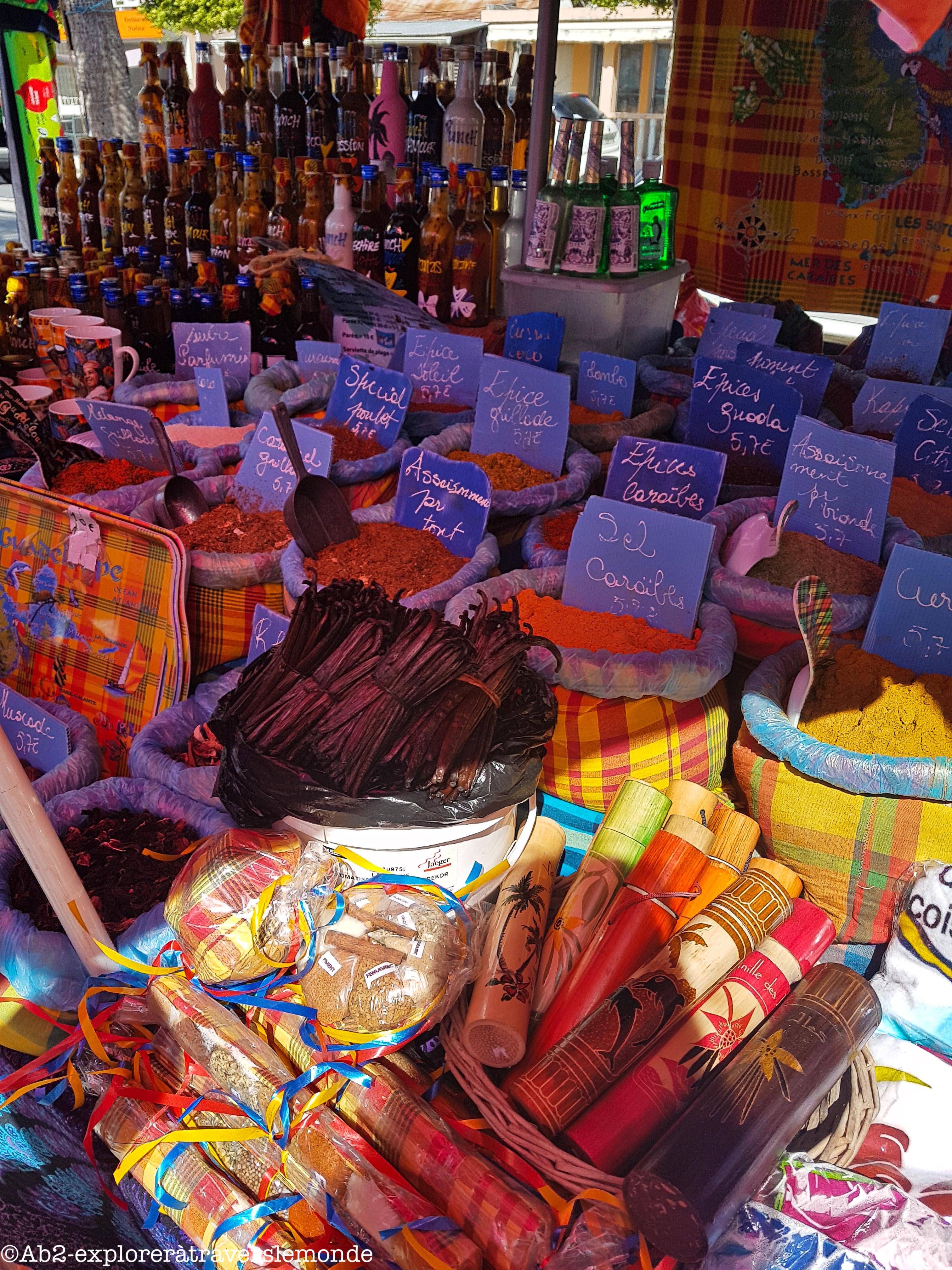 sainte-anne - marché