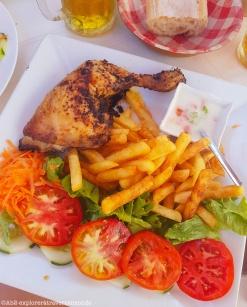 sainte-anne - poulet grillé