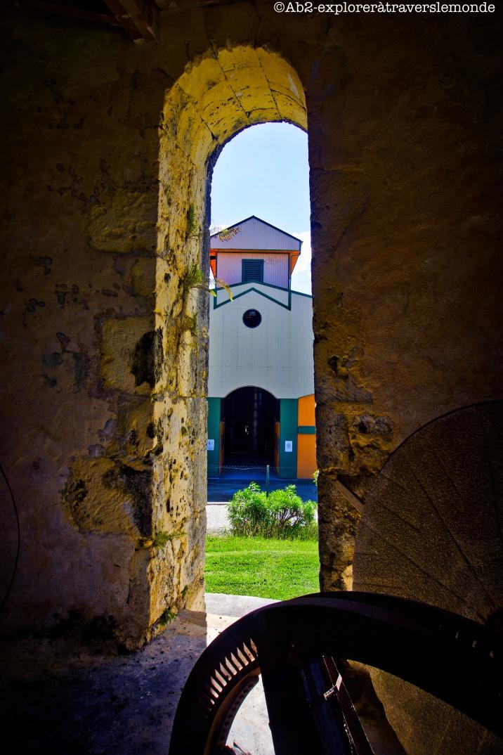 marie-galante - intérieur moulin distilerie