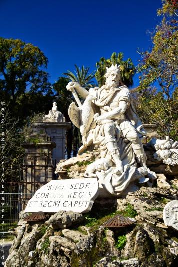Fontana Del Genio Di Palermo