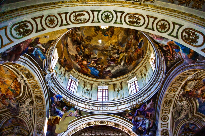 Plafond de l'Eglise Sainte Catherine