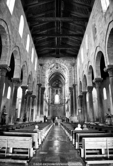 Cathédrale de Cefalù - intérieur