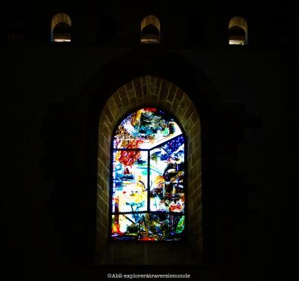 Cathédrale de Cefalù - vitraux