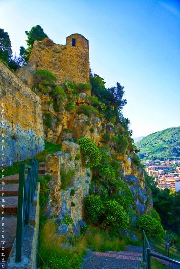 La montée du Rocca