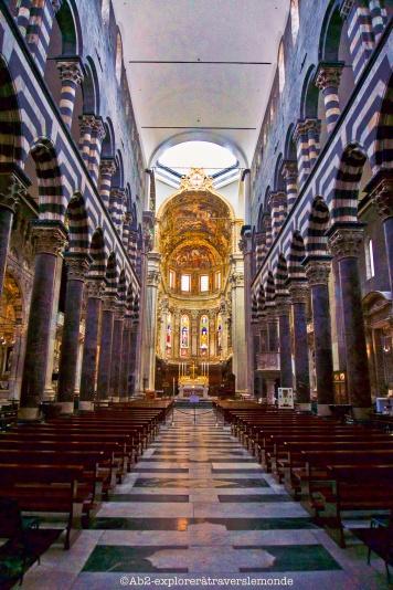 Cathédrale de Gênes - intérieur