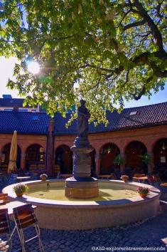 Cathédrale d'Oslo - l'arrière