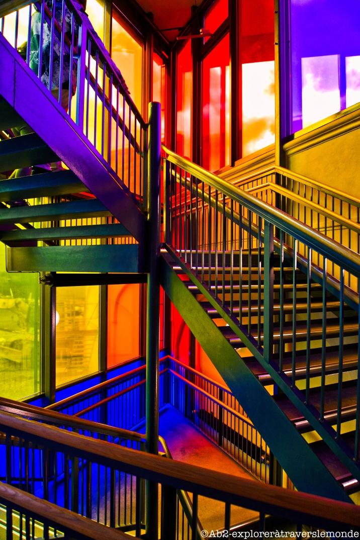 Centre Nobel de la Paix - escalier