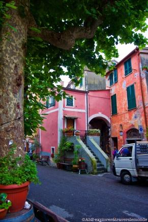 Centre ville de Monterosso - bâtiment