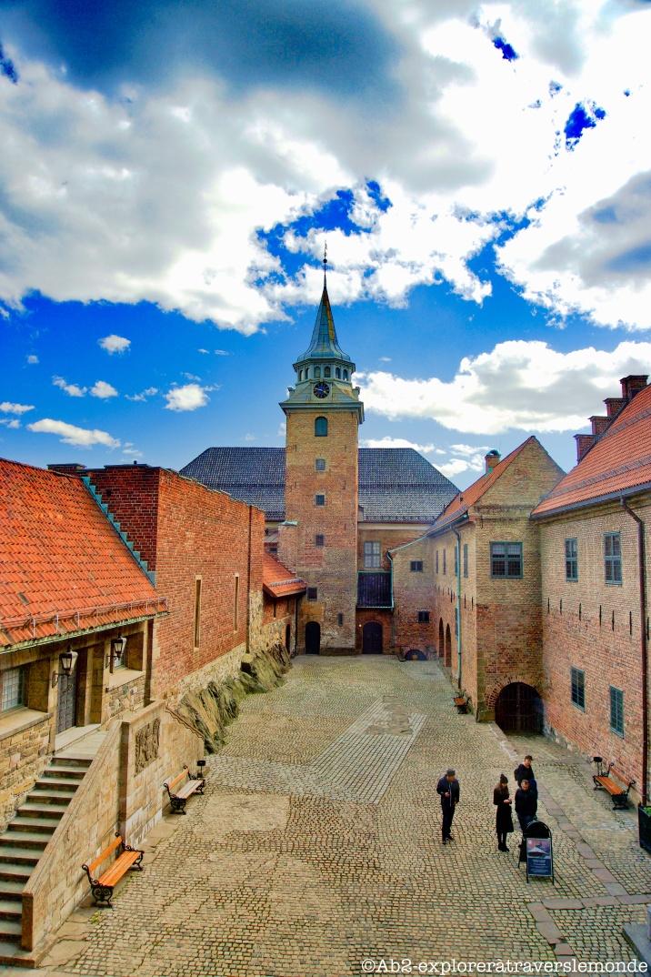 Chateau d'Akershus - cour intérieur