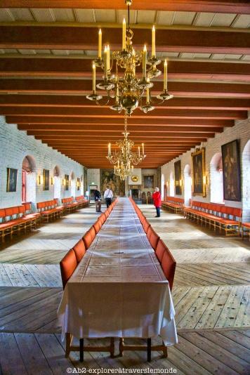 Chateau d'Akershus - Salle à manger