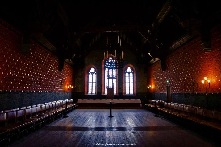 Chateau d'Akershus - Salle de réception:théatre