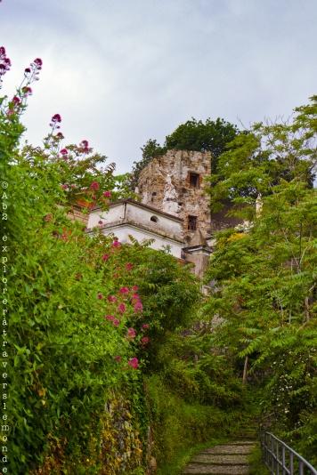Cimetière - ruine du couvent des capucines