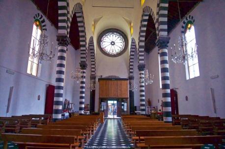 Eglise Saint- Giovanni - intérieur Arrière