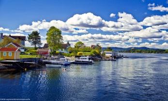 Fjord - petite île