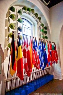 Musée de la défense - drapeau