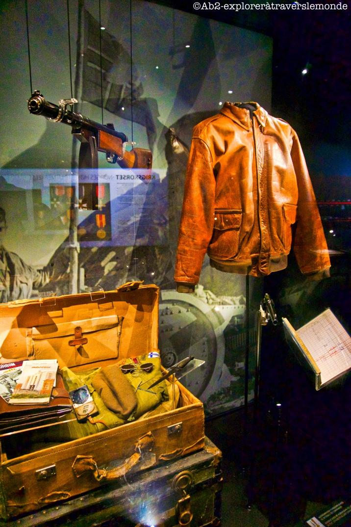 Musée de la défense - uniforme pilote