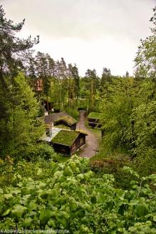 Musée du folkore - vue sur le village