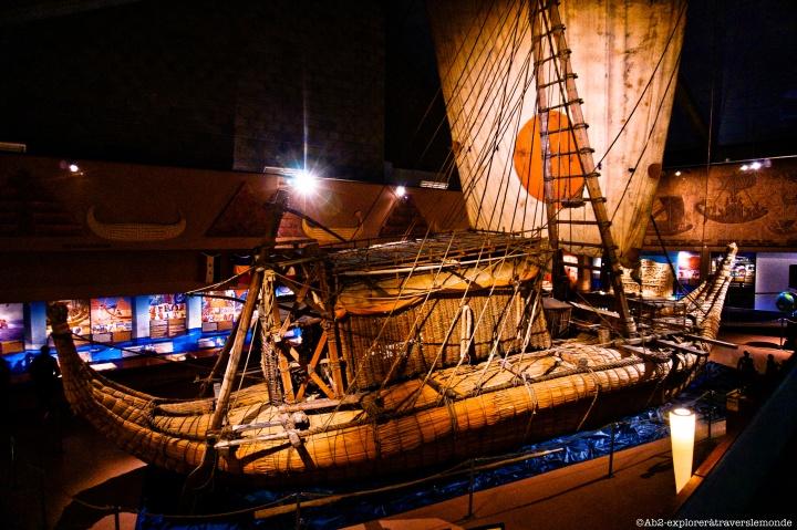 Musée du Kon-Tiki - bateau
