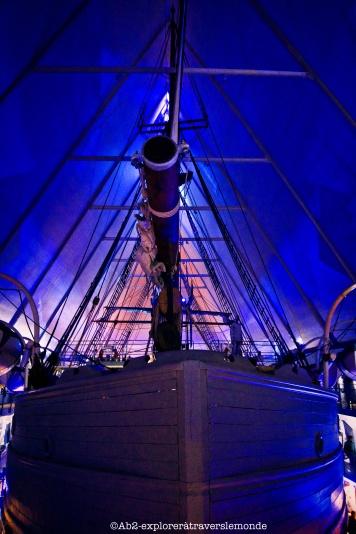 Musée Fram - bateau