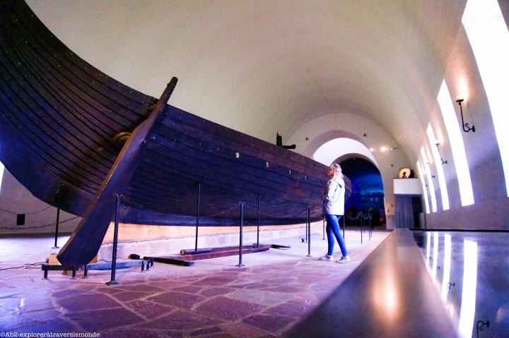 Musée Viking - bateau