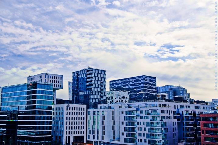 Opéra - vue sur les immeubles