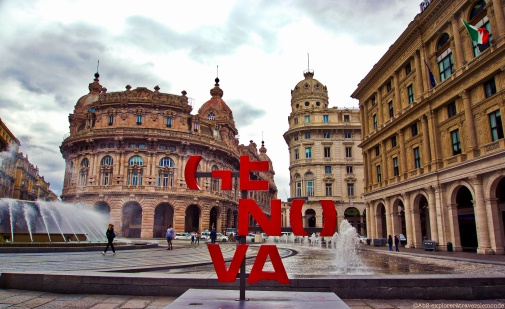 Place Raphaël de Ferrari - Genova
