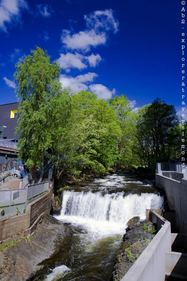 Quartier Grunerlokka - Première chute