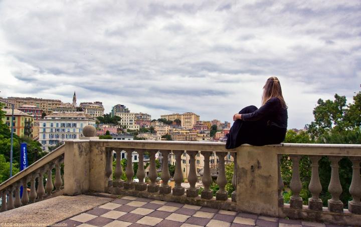 Sur les hauteurs de Gênes
