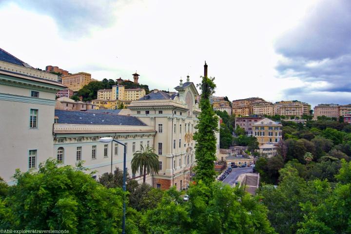 Université de Gênes dans les hauteurs