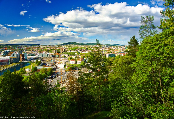 Vue sur la ville - Parc Eker