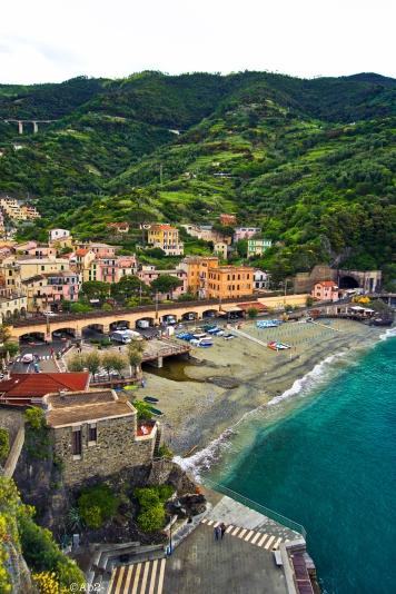 Vue sur l'autre partie du Monterosso
