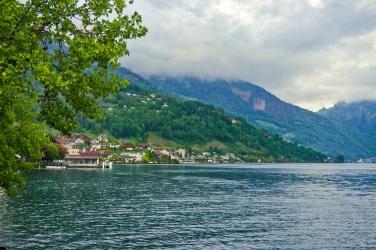 Weggis - lac