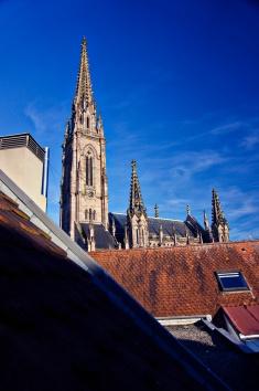 Sous les toits de l'hotel