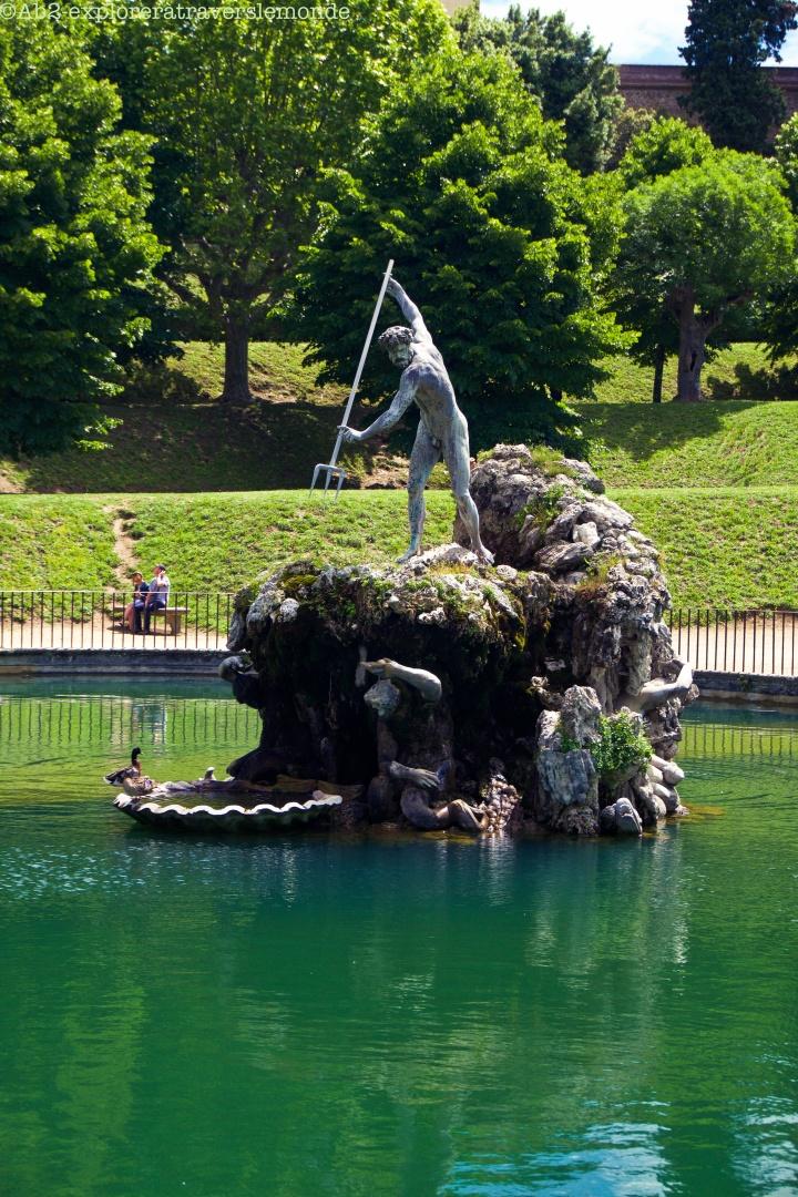 Jardin de Boboli - Fontaine de Neptune