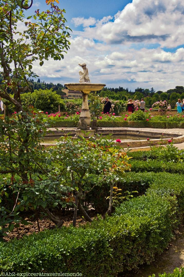 Jardin de Boboli - jardin du musée de la porcelaine