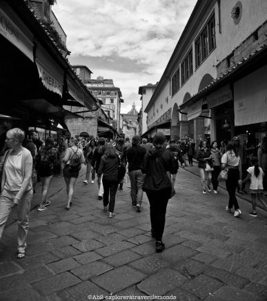 Ponte Vecchio - à l'intérieur