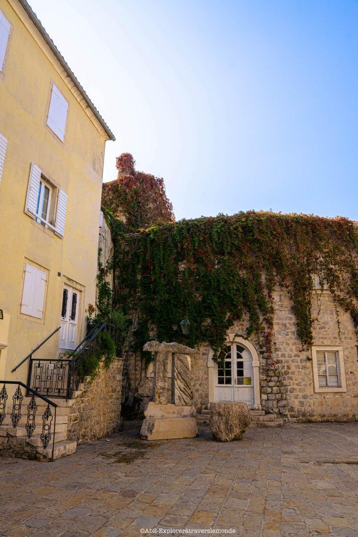 Budva - dans la vieille ville